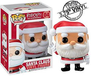 Pop! Holidays Rudolph the Red-Nosed Reindeer Vinyl Figure Santa #4 (Vaulted)
