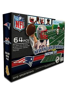OYO Toys NFL Generation 1 Team Field Endzone Set: New England Patriots