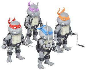 Teenage Mutant Ninja Turtles Set (Black & White Version) 2016 SDCC Exclusive