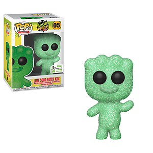 Pop! Candy Sour Patch Kids Vinyl Figure Lime Sour Patch Kid #05 (2019 Emerald City ComicCon Exclusive)