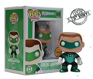 Pop! Heroes DC Universe Vinyl Figure Green Lantern #09 (Chase Variant) (Vaulted)