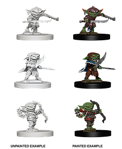 Pathfinder Deep Cuts Unpainted Miniatures: Goblins