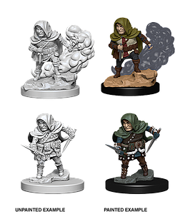 Dungeons & Dragons Nolzur's Marvelous Miniatures: Halfling Rogue