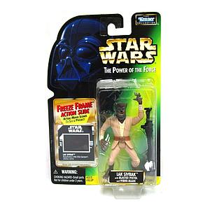 Star Wars The Power of The Force Freeze Frame Action Slide Action Figure Lak Sivrak