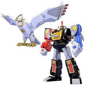 Super Minipla Model Kit: Ninja Megazord & White Ninja Falconzord Set