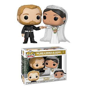 Pop! Royals Vinyl Figure 2-Pack The Duke & Duchess of Sussex