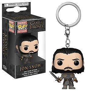 Pop! Pocket Keychain Game of Thrones Figure Jon Snow