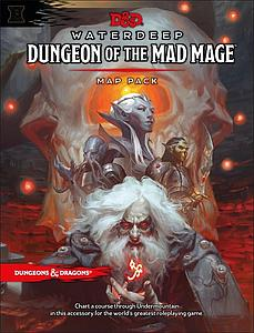 Dungeons & Dragons Waterdeep: Dungeon of the Mad Mage - Map Pack