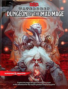 Dungeons & Dragons Waterdeep: Dungeon of the Mad Mage Hard Cover