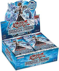 YuGiOh Trading Card Game Duelists: Legendary Duelists White Dragon Abyss Booster Box