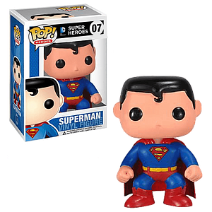Pop! Heroes DC Universe Vinyl Figure Superman #07