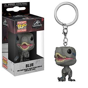 Pop! Pocket Keychain Jurassic World 2 Vinyl Figure Blue