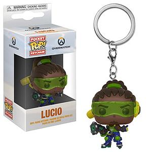 Pop! Pocket Keychain Overwatch Vinyl Figure Lucio