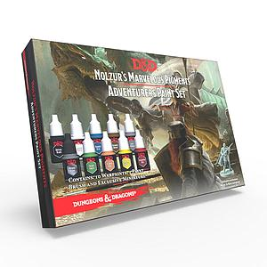 Dungeons & Dragons Nolzur's Marvelous Pigments: Adventurers Paint Set (75001)