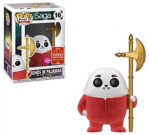 Pop! Comics Saga Vinyl Figure Ghus in Pajamas (Flocked) #16 2018 Summer Convention Exclusive