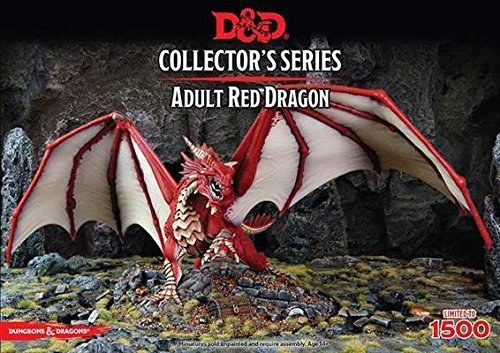 Dungeons & Dragons Miniatures Collector's Series: Adult Red Dragon