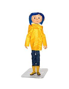 Coraline in Yellow Raincoat