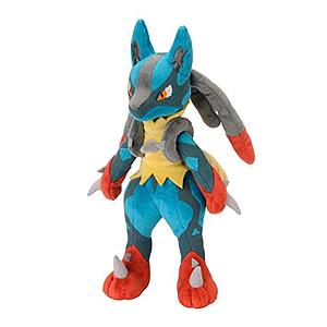 "Pokemon Plush Mega-Lucaro (11"")"