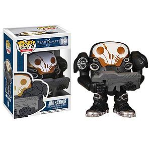 Pop! Games Starcraft Vinyl Figure Jim Raynor #19 (Vaulted)