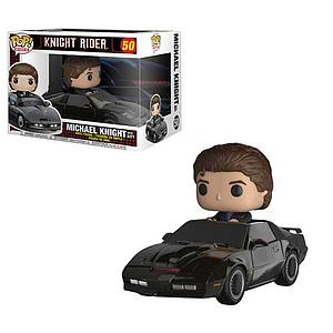Pop! Rides Knight Rider Vinyl Figure Michael Knight with Kitt #50