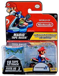 Jakks Pacific World of Nintendo Mariokart Mario Tape Race