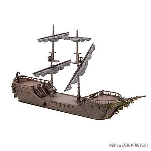 Dungeons & Dragons Icons of the Realms Painted Miniatures: The Falling Star Sailing Ship