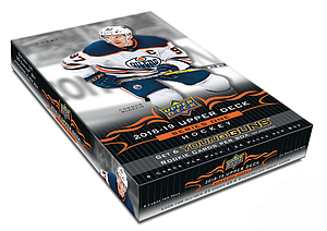 NHL 2018-19 Upper Deck Series One Hockey Hobby Box