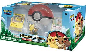 Pokemon Trading Card Game: Poke Ball Collection - Pikachu & Eevee