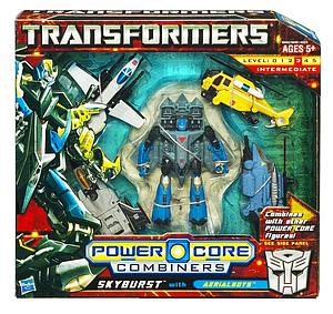 Transformers Power Core Combiners Class: Skyburst (Opened Package)