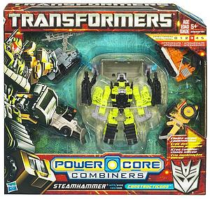 Transformers Power Core Combiners Class: Steamhammer (Opened Package)