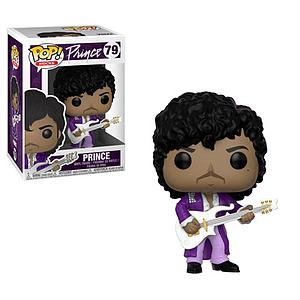 Pop! Rocks Prince Vinyl Figure Prince (Purple Rain) #79