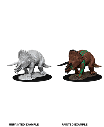 Dungeons & Dragons Nolzur's Marvelous Unpainted Miniatures: Triceratops
