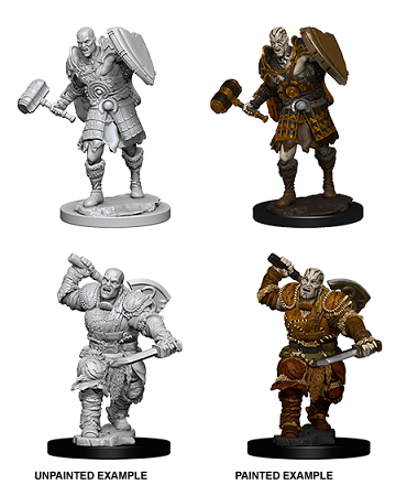 Dungeons & Dragons Nolzur's Marvelous Unpainted Miniatures: Goliath Fighter (Male)