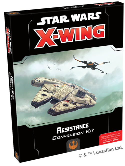 Star Wars: X-Wing 2nd Edition - Resistance Conversion Kit