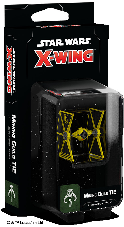 Star Wars: X-Wing 2nd Edition - Mining Guild TIE Expansion Pack