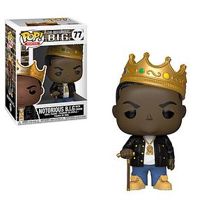 Pop! Rocks Vinyl Figure The Notorious B.I.G. with Crown #77