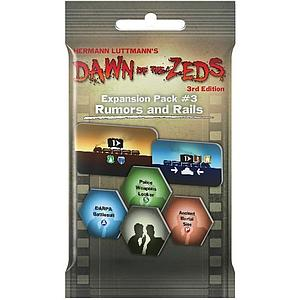 Dawn of the Zeds (Third Edition): Rumors and Rails Expansion #3
