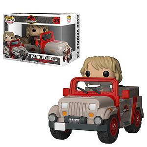 Pop! Rides Jurassic Park Vinyl Figure Park Vehicle (Jeep) #39