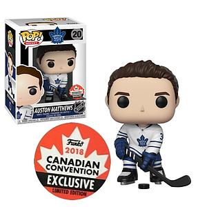 Pop! Hockey NHL Vinyl Figure Auston Matthews (Toronto Maple Leafs) #20 (2018 Canadian Convention Exclusive)