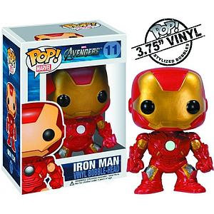 Pop! Marvel The Avengers Vinyl Bobble-Head Iron Man #11 (Retired)