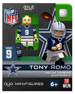 NFL Football Minifigures: Tony Romo (Dallas Cowboys)