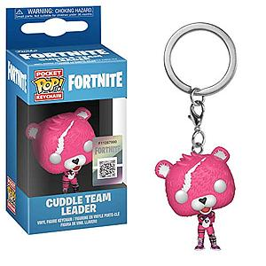 Pop! Pocket Keychain Fortnite Vinyl Figure Soldier: Cuddle Team Leader