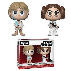 Vynl Star Wars - Luke Skywalker & Princess Leia