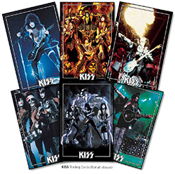 Kiss Deluxe Ultra Premium Trading Cards