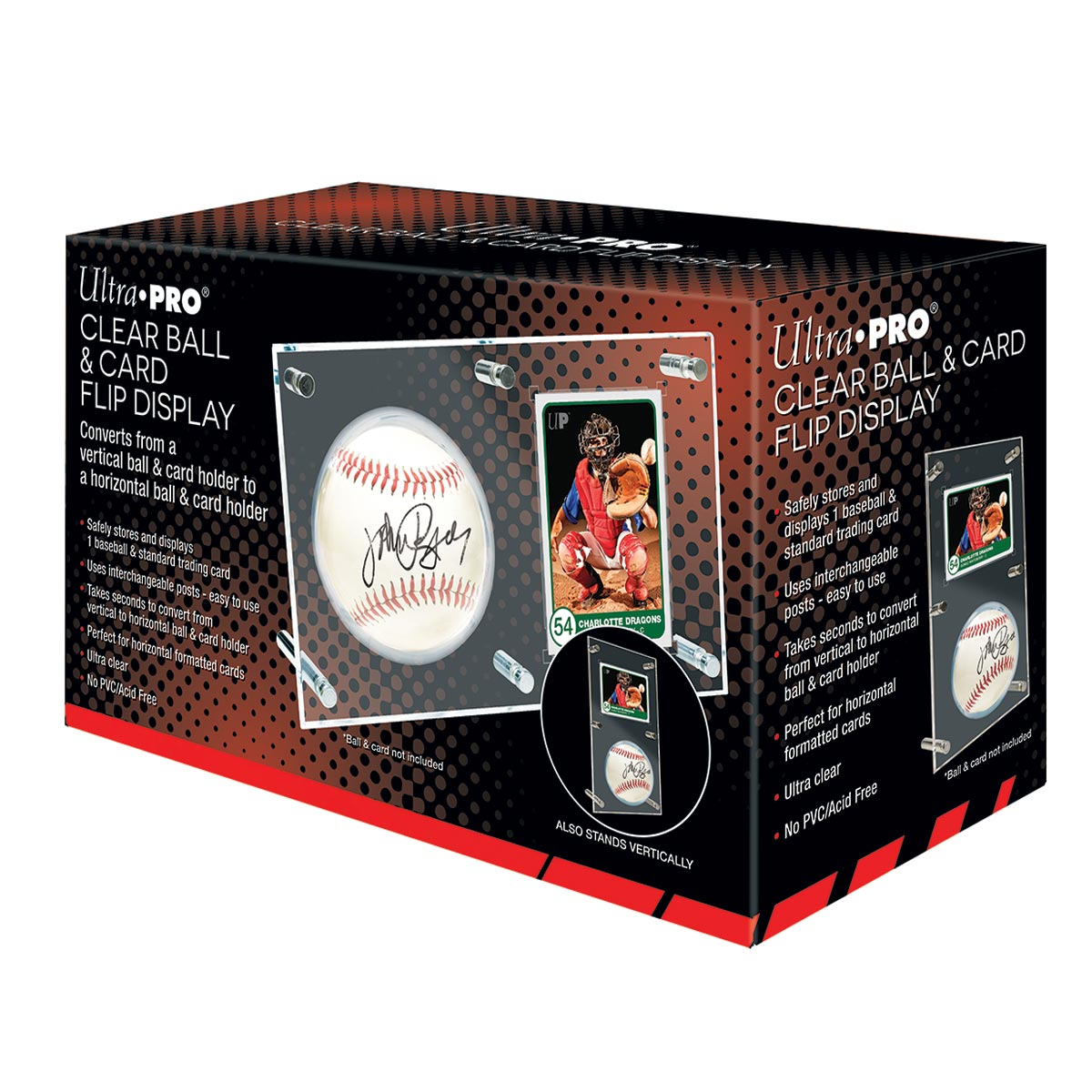 Ball Card Holder Flip Display