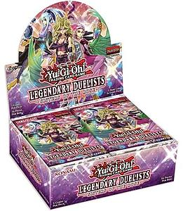 YuGiOh Trading Card Game Legendary Duelists: Sisters of the Rose Booster Box