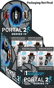 Portal 2 Series IV Blind Box: Display of 12 Packs