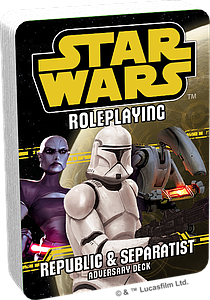 Star Wars: Republic & Separatist - Adversary Deck