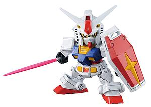 Gundam SD Gundam Cross Silhouette Model Kit: #01 RX-78-2 Gundam