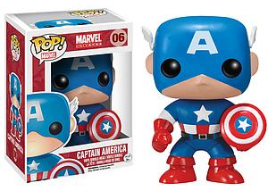 Pop! Marvel Universe Vinyl Bobble-Head Captain America #06